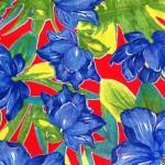 Cobre Mancha Chita Fundo Azul
