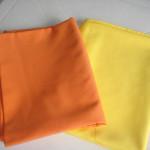 Cobre Mancha laranja e amarelo