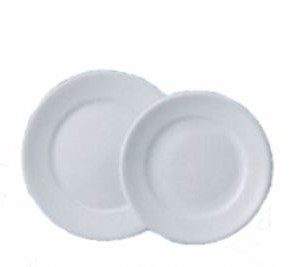 Prato Redondo Porcelana - Mesa e Sobremesa