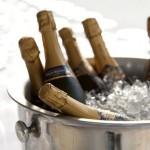 balde de gelo champanhe