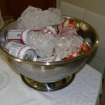 champanheira latas